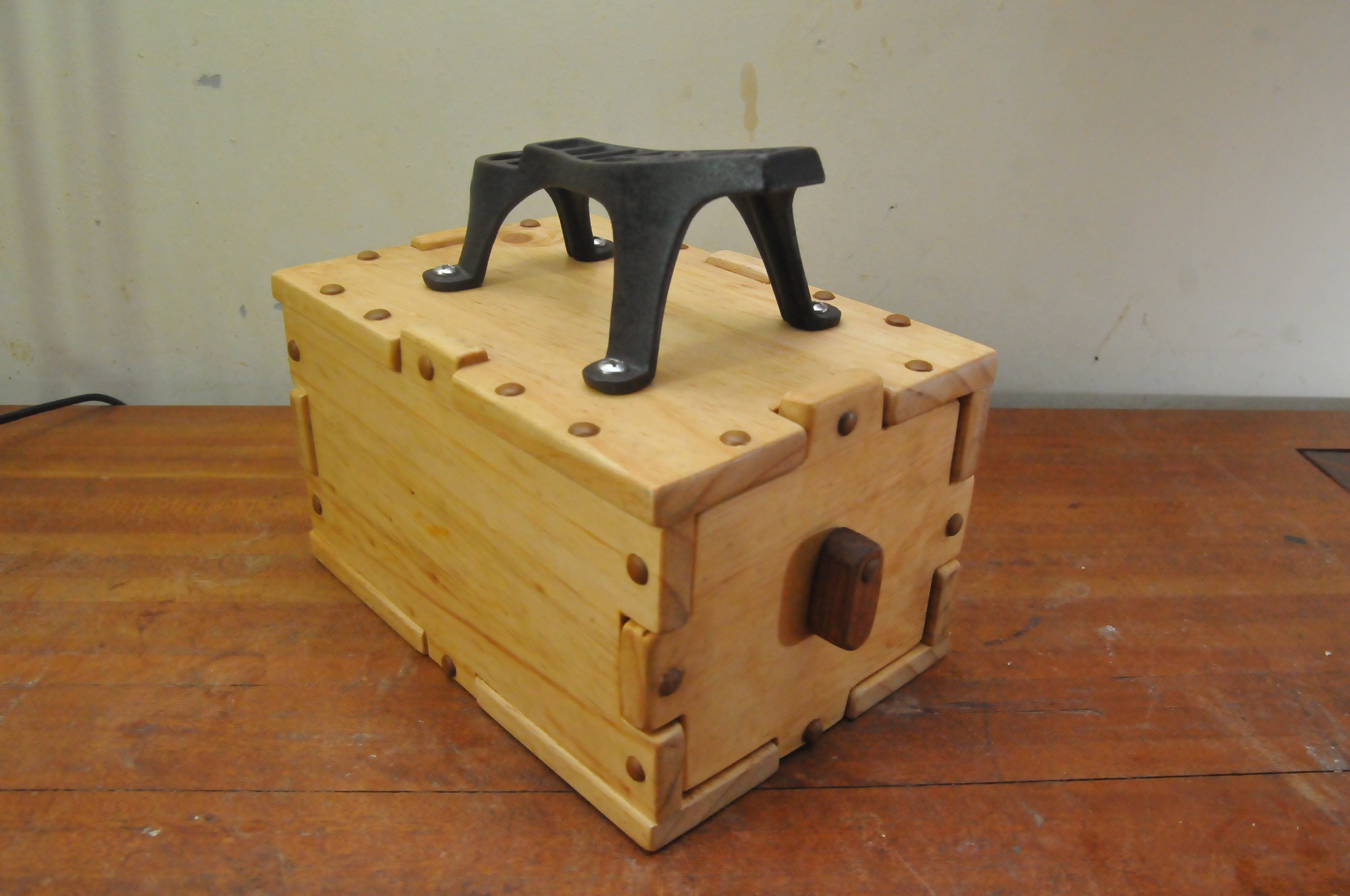 Amazing photo of Shoe Shine Stand with Drawer for Singapore Shoe Shine Uncle with #7D4928 color and 4288x2848 pixels